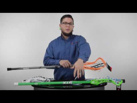 Women's Complete Lacrosse Stick Category Overview @SportStop Com