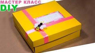 Подарочная упаковка для заколок и ободка Канзаши / Видео Мастер Класс(Всем привет! Меня зовут Настя и в этом видео я покажу как сделать подарочную коробку, для упаковки пары зако..., 2015-01-08T16:30:02.000Z)