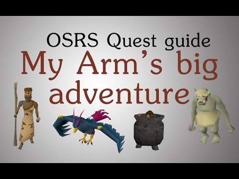 [OSRS] My Arm's big adventure quest guide