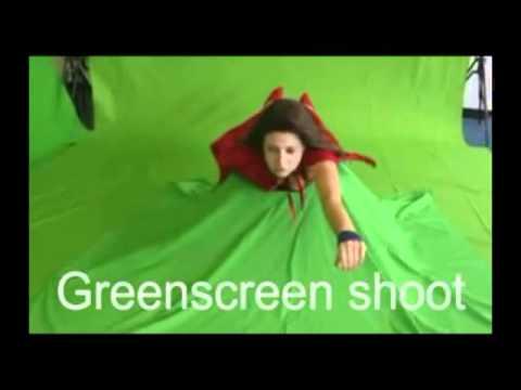 animation incrustation video fond vert enlive sur le lieu ...