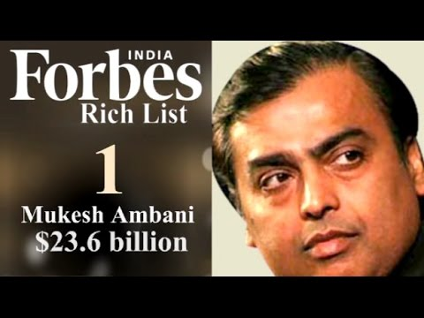 Forbes' 100 Richest Indians List: Collective Net Worth Jumps By One-Third From 2013