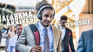 See the electric scene as the Tide arrive for a showdown with Vols