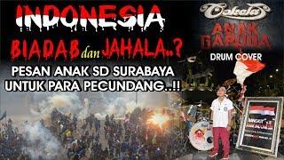 ANAK GARUDA-COKELAT BAND-Indonesia Bangsa Biadab & Jahala? Prabu Alif Pesan Anak SD Surabaya