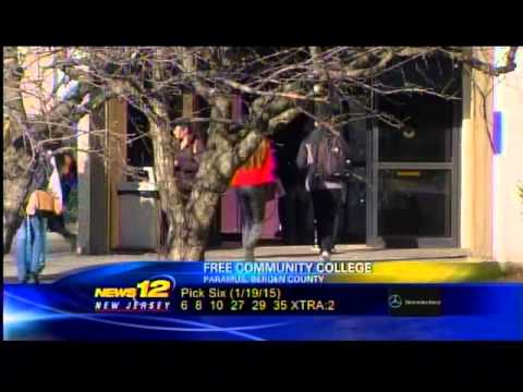 Bergen Community College - News 12, Jan. 2015 (2)