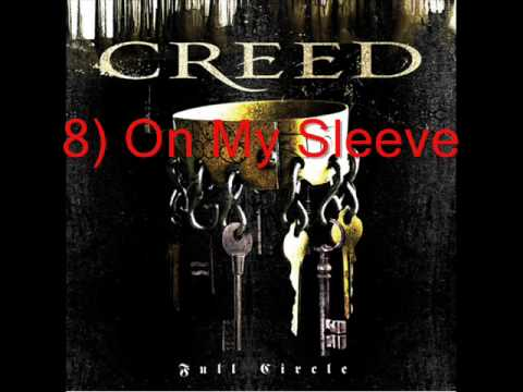 8) On My Sleeve by Creed *lyrics in des.*
