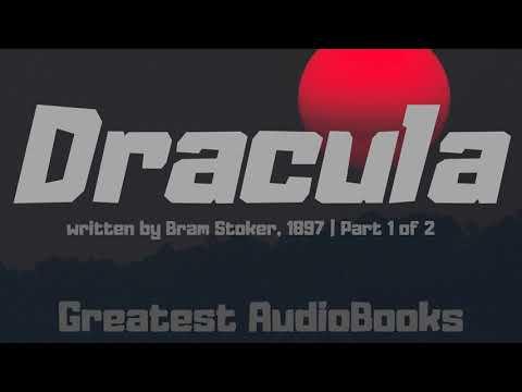 🧛 DRACULA By Bram Stoker - FULL AudioBook P1 🎧📖 | Greatest🌟AudioBooks