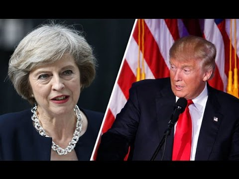 President Donald Trump Holds Joint Press Conference with UK Prime Minister Theresa May