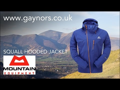 Mountain Equipment Squall Hooded Jacket: Www.gaynors.co.uk