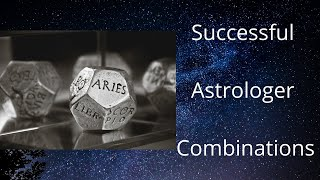Successful Astrologer Combinations - Astrology Basics 157