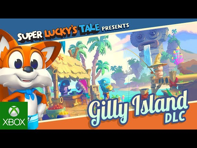 Super Lucky's Tale - Gilly Island DLC Trailer