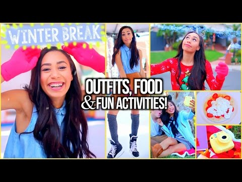 Fall and Winter Break Survival Guide: Outfits, Things To Do and Food! | MyLifeAsEva