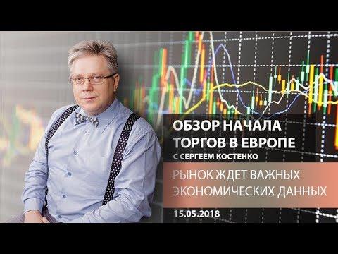 Аналитика рынка Форекс: Рынок ждет важных экономических данных - Обзор открытия европейской сессии