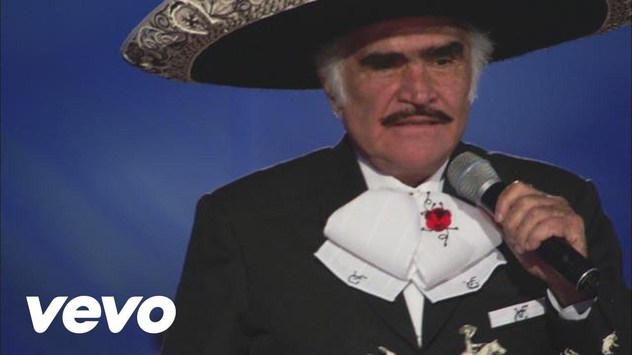 Vicente Fernández Mujeres Divinas En Vivo Youtube
