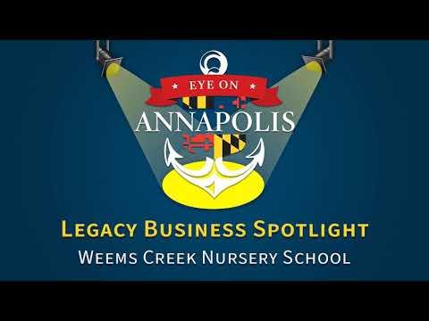 Legacy Business Spotlight:  Weems Creek Nursery School (Encore Presentation)