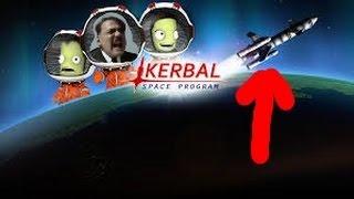 Hitler plays Kerbal Space Program...