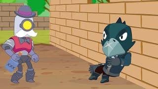 Brawl Stars Animation | CROW vs EL PRIMO vs BARLEY (Parody)