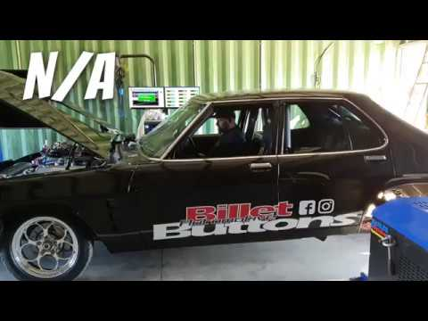 MCFRY HJ Holden on HUB DYNO 1000+RWHP 580CI BBC with Nitrous
