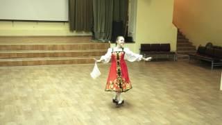 Русский народный танец. Соло.