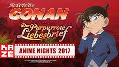 Detektiv Conan – The Movie (21) – Der purpurrote Liebesbrief (Kino-Trailer)