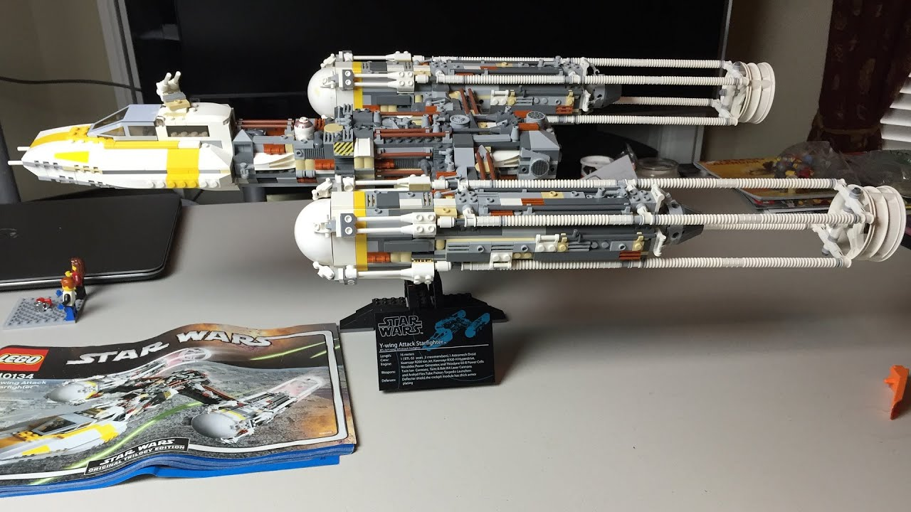 Lego Star Wars UCS Y Wing Review Speedbuild