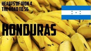 Hearts of iron 4: The Road to 56 #3 Honduras Już nie Honduras a Bananowe Imperium :D