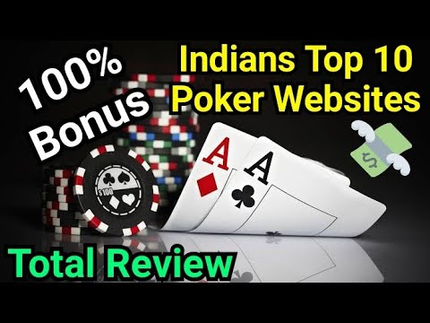 TOP 10 POKER WEBSITES IN INDIA - TOTAL REVIEW & OPINION - IN HINDI