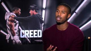 Creed Interview with Michael B Jordan