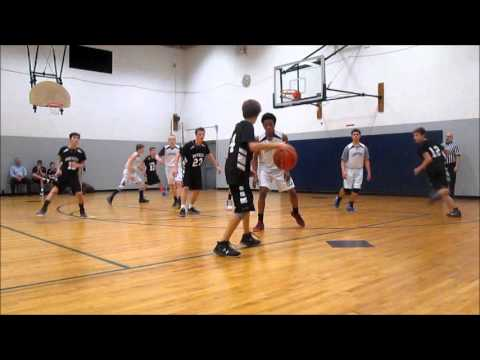 Joshua Robinson's Highlights vs. Amherst Christian Academy