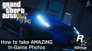 GTA V PC: How to take AMAZING In-Game Photo