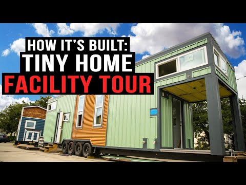 Tiny Home Facility Tour | Shipping Container Home Comparisons