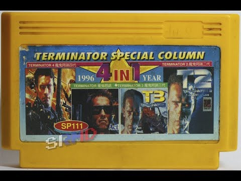 Famicom Multicarts ~ 1996 Year 4-in-1 Terminator Special Column