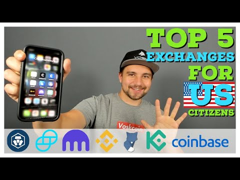 What Are The BEST Cryptocurrency Exchanges For US CITIZENS?!