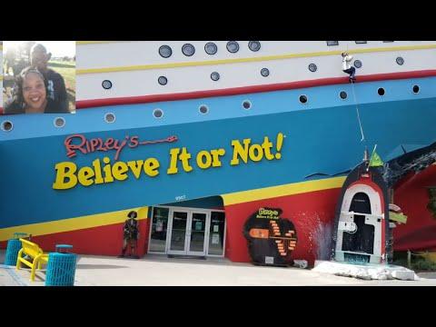 Ripley believe it or not encounter  Panama city Florida Aug 28, 2017