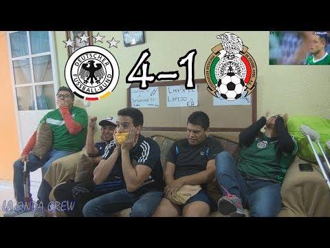 ¡COLORÍN COLORADO!... / Alemania vs México (4-1) / Copa Confederaciones Rusia 2017 / Reacciones