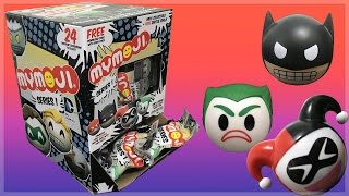 Dc Comics Mymoji Case Opening - Funko Mystery Minis Series 1 Emoji Blind Bags & Toy Review!