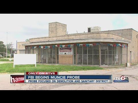 FBI probing city government in Muncie