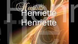 HENRIETTE aaa -ukázka z CD - Napíšu mlhou
