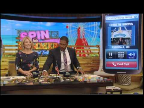 Live with kelly travel trivia