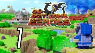 Let's Play 3D Dot Game Heroes [1] Hero of legend