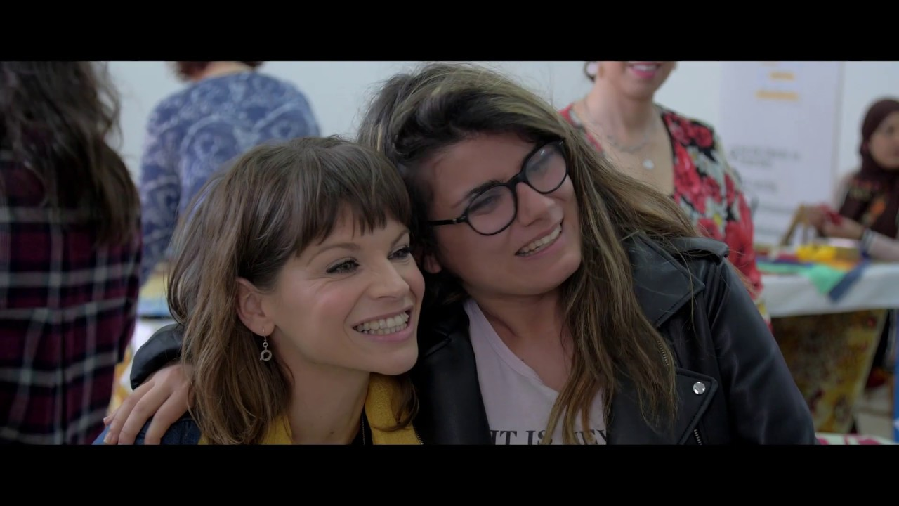#10sorpreseinTour - Alessandra Amoroso incontra le donne di casa Ain Karem