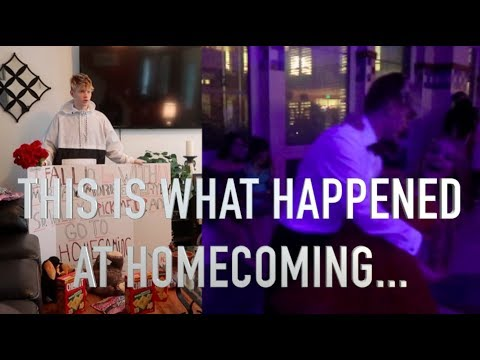 We went to homecoming.. AND, this happened!