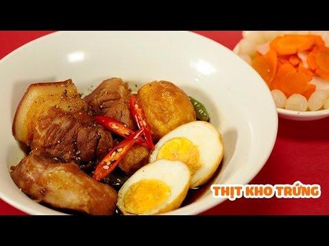 Nhòm Nhèm -- Hướng Dẫn Làm Món Thịt Kho Trứng Ngon Mê Ly - Lăn Vào Bếp - 동영상