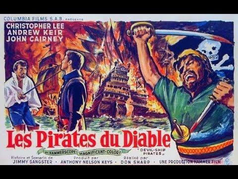 Film Rétro, Les Pirates du Diable (1968)  Christopher Lee, Barry Warren, Suzan Farme thumbnail