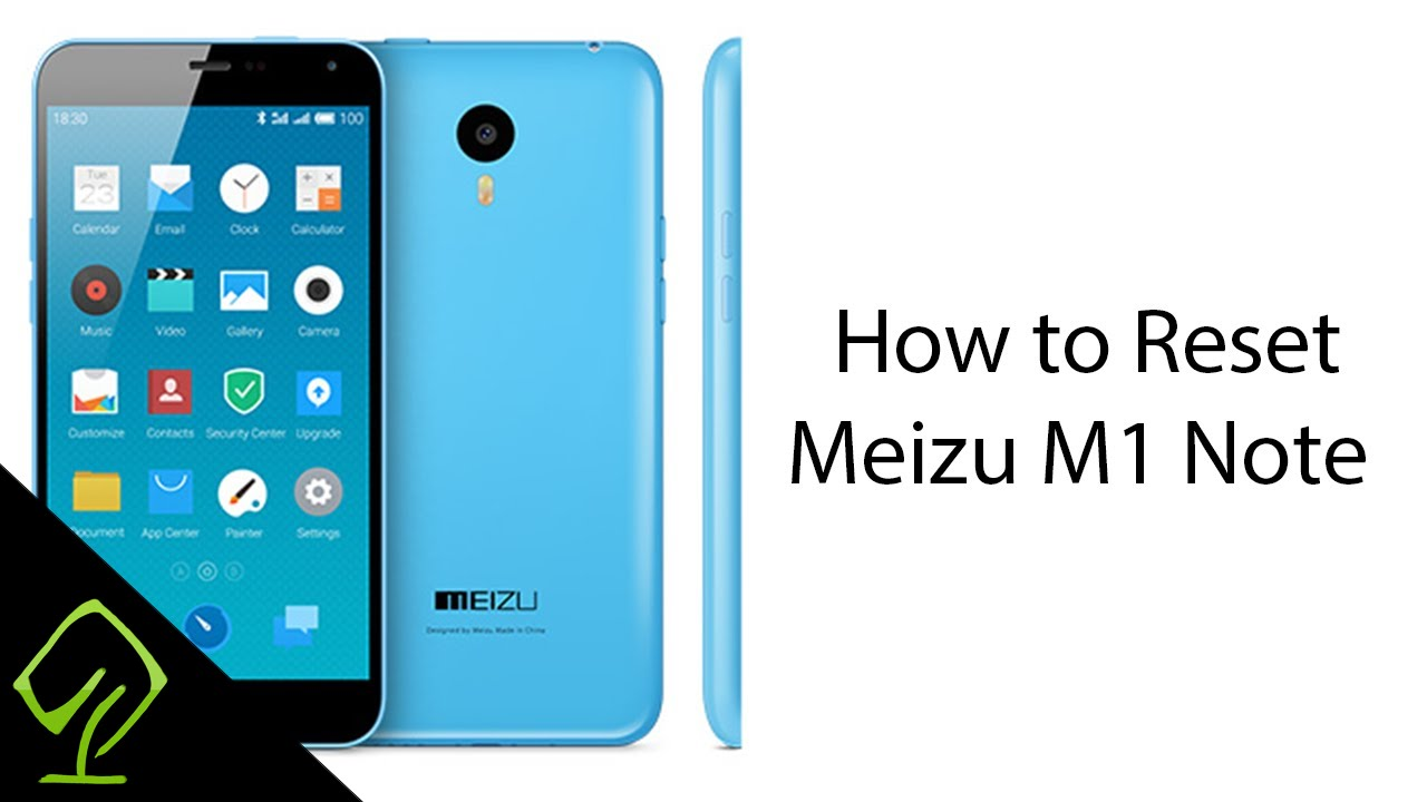 How to Reset Meizu M1 Note (Flyme)
