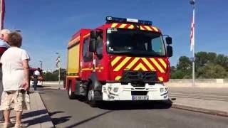 Défilé Pompiers Tours 2016