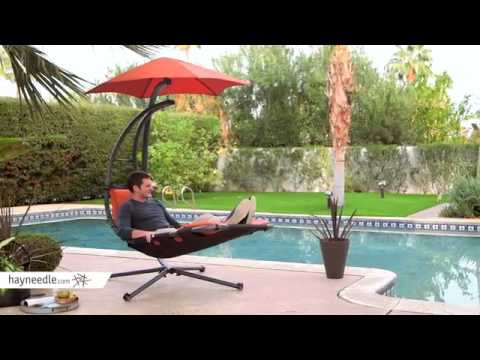 Swing Hammock Chair With Stand Costco Lift Arc Air Porch Youtube