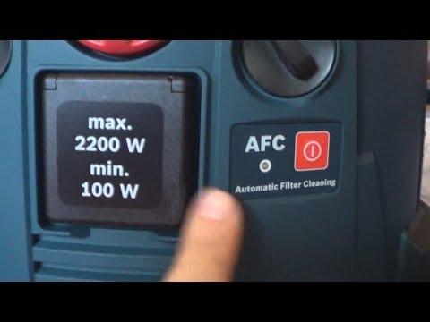 Видео обзор: Пылесос BOSCH GAS 55 M AFC