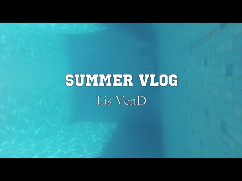 Summer Vlog | Pool Weekend