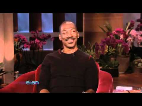Ellen Finally Meets Eddie Murphy!