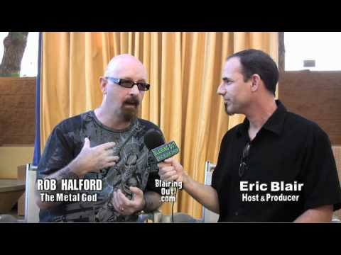 Rob Halford talks to Eric Blair about his new cd Made of Metal part #1
